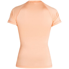 Rip Curl Sunny Rays Relaxed Camiseta Manga Corta UV Mujer, naranja